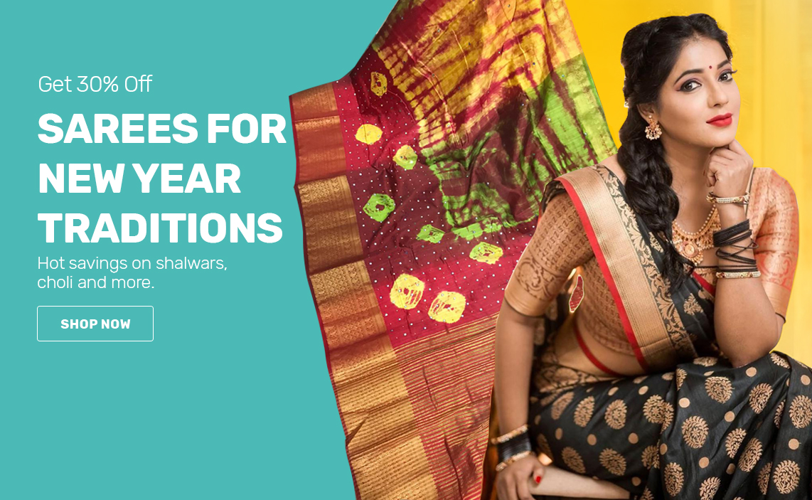 Saree for new year